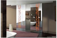 Casali-Alpha-sliding-glass-door-porta-scorrevole-vetro-Frammenti-mirror-specchio