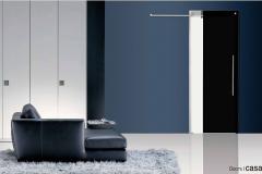 Casali-glass-door-sliding-porta-vetro-laccata-lacquer-bi-color-black