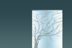 Casali-glass-door-sliding-porta-vetro-scorrevole-Albero_fondo-sabbiato