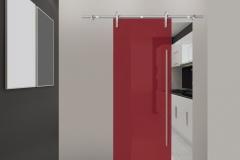 Casali-glass-door-sliding-porta-vetro-scorrevole-Ink-rubino