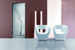Casali-glass-swing-door-porta-vetro-battente-Tiare-dipinta