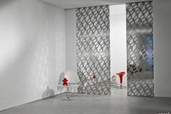 Casali-pop-metal-sliding-glass-door-porta-scorrevole-vetro-mirror-specchio